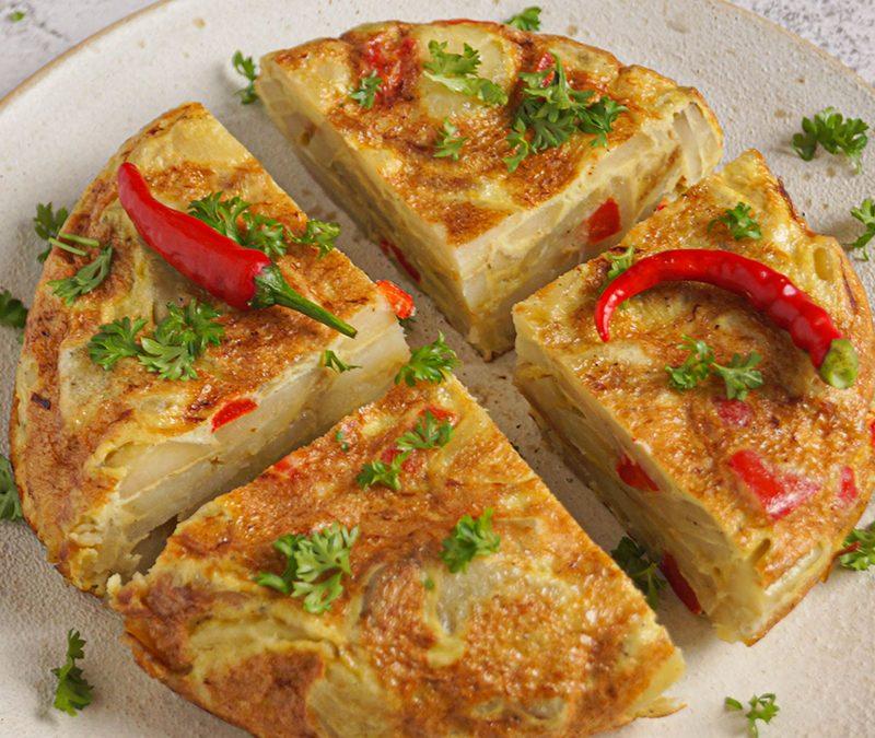 Omlet ziemniaczany torreadora