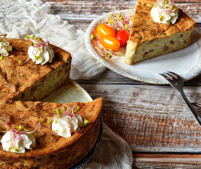 Wytrawny tort ziemniaczany